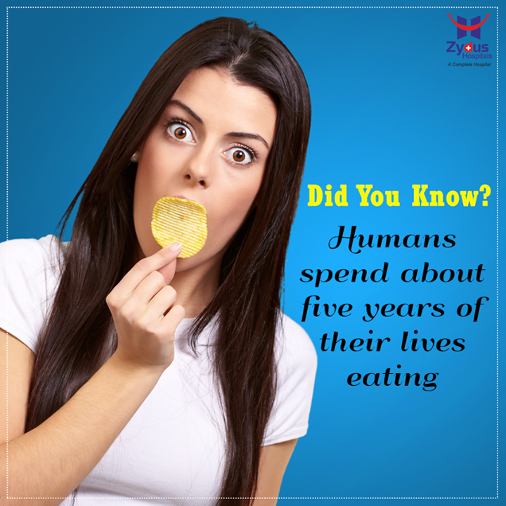 Now that's pretty long period! Isn't it?   #BodyFacts #DidyouKnow #ZydusHospitals #Ahmedabad