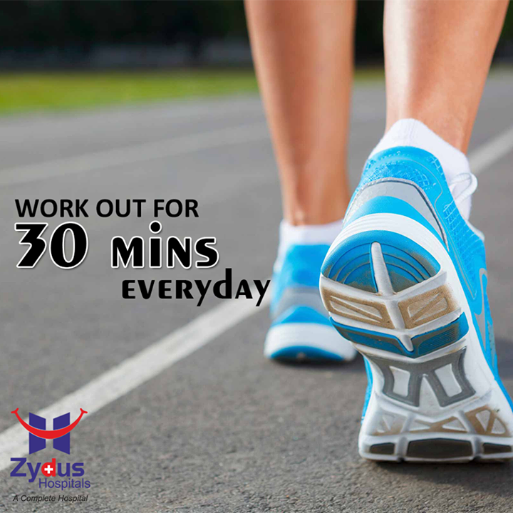 Your body needs to stay engaged with physical activity everyday so you can be fit and healthy.  #QOTD #StayFit #StayHappy #StayHealthy #Activity #HealthCare #ZydusHospitals #Ahmedabad
