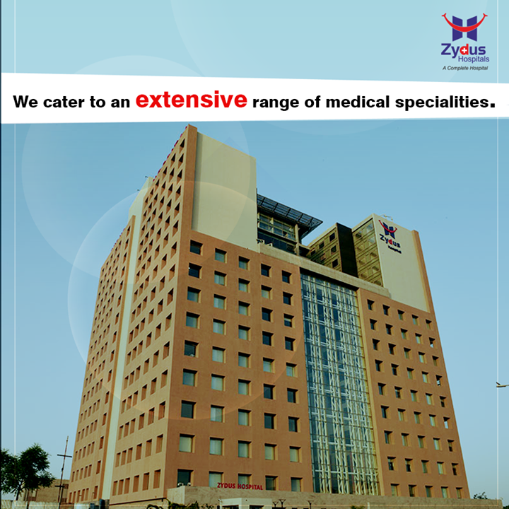 We provide the highest standard of clinical skills and nursing care across an extensive range of specialities and attract world-class doctors and surgeons from leading hospitals.  #ZydusCares  #HealthCare #ZydusHospitals #Ahmedabad