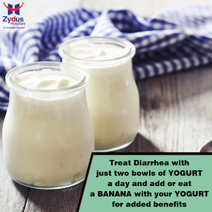 Here's a #HomeRemedy to treat #diarrhea in the most natural way  #HealthHack #HealthCare #ZydusHospitals #Ahmedabad