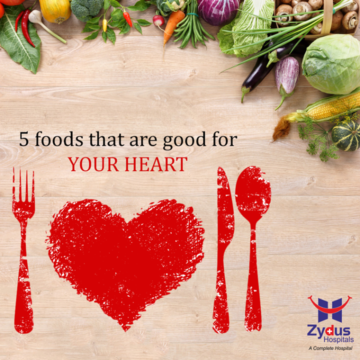 || 5 foods that are good for your heart || 1. A handful of healthy nuts such as almonds or walnuts will satisfy your hunger and help your heart. 2. Berries are chock full of heart-healthy phytonutrients and soluble fiber 3. Oatmeal: the comfort-food nutrient powerhouse 4. Tomatoes – even sun-dried varieties in winter months – provide lycopene, vitamin C and alpha- and beta-carotene. 5. Fruits such as oranges, cantaloupes and papaya are rich in beta-carotene, potassium, magnesium and fiber.   #HealthyHeart  #ZydusHospitals #ZydusCares #WinterCare #GoodHealth #GoodFood