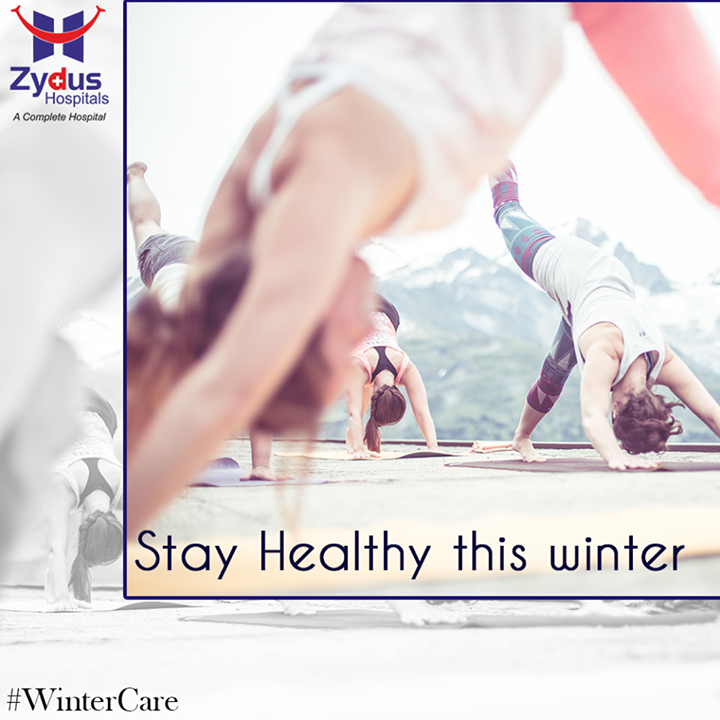 Yoga can be your #additional #protective cover this winter, providing you warmth and the strength to fight common infections. We bring you a few yoga remedies that can help you fully enjoy the spirit of the season. 1. Keep Warm 2. Keep the Bug at Bay 3. Fight the Blues 4. Indulge But Burn It Out  #WinterCare #YogaBenefits #ZydusCares #GoodHealth #SeasonalTips #ZydusHospitals