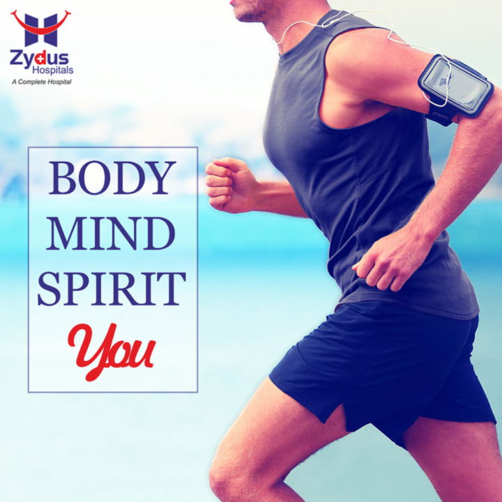 #Exercise not only changes your body, it changes your mind, your attitude and your mood.  #QOTD #Body #Mind #Spirit #HealthCare #ZydusHospitals #Ahmedabad