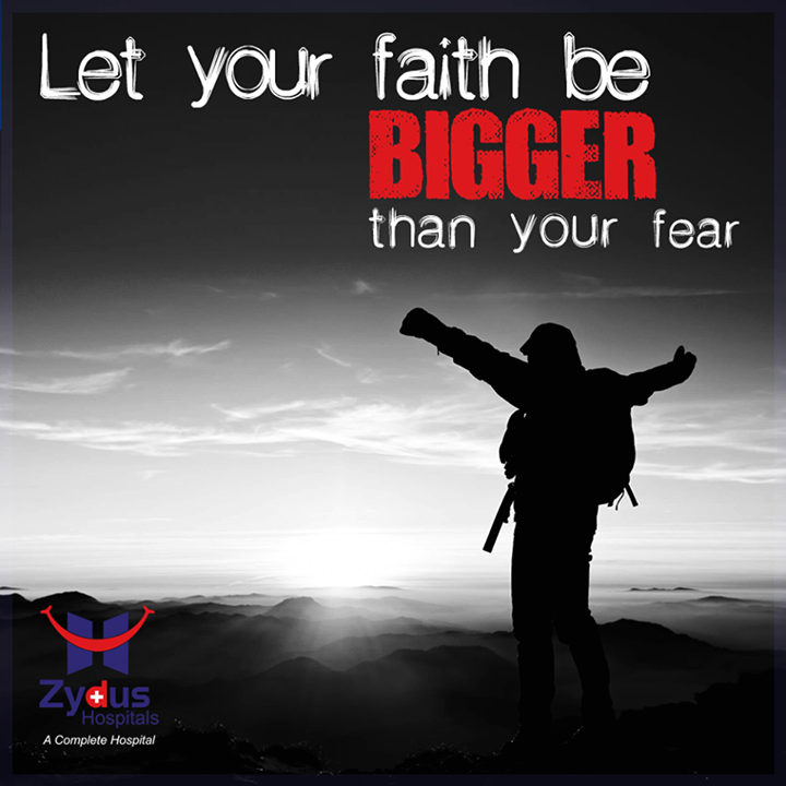 If you want something you never had, you have to do something you've never done ‬  #Bigger #Faith #QOTD #MondayQuote #ZydusHospitals #Ahmedabad