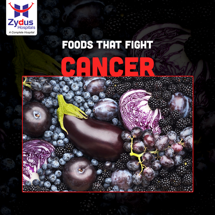 Perk-up your plate with some purple and blue foods like brinjal, beetroot, fig, grapes and blueberry. They are packed with anthocyanins which can protect against cancer, memory loss, food poisoning and much more!     #ZydusCares #ZydusHospitals #Ahmedabad #GoodHealth