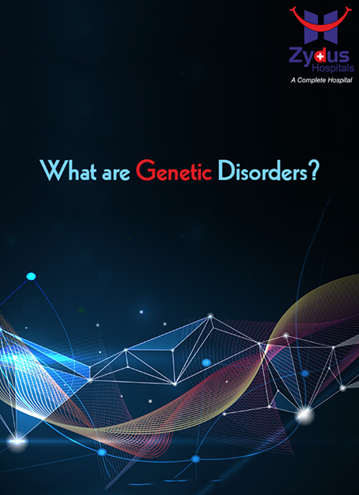 Genetic disorders arise due to an abnormality in an individual's genetic material. This abnormality could have been inherited from one's parents or it could have arisen for the first time in the patient (called de novo). These disorders not only affect the patient's quality of life but also pose a risk of being transmitted to the future generations.  For more information: http://www.zydushospitals.com/genetic-sciences.html  #Genetic #Disorders #knowProblems #ZydusCares #ZydusHospitals #Ahmedabad