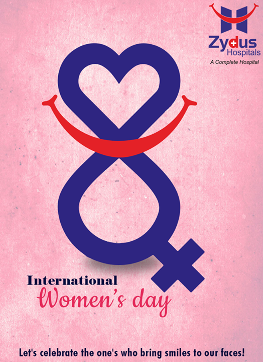 Let's celebrate the one's who bring smiles to our faces!  #ZydusHospitals #Womensday #Womensday2017 #Womensdaycelebration #Ahmedabad