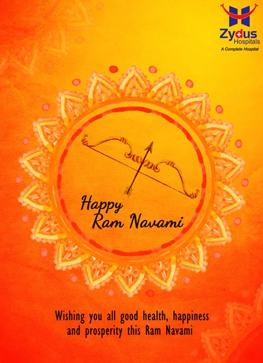Warm wishes on the festive occasion of #RamNavami!  #IndianFestivals #RamNavmi #ZydusCares #ZydusHospitals #Ahmedabad