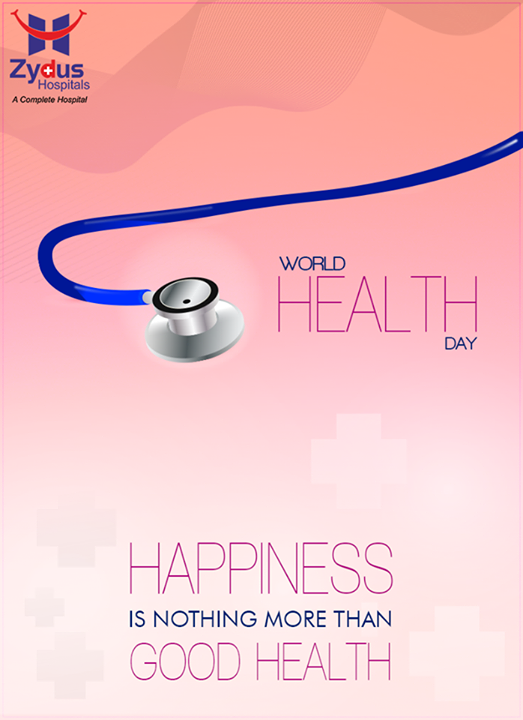 :: Nothing looks as good as healthy feels ::  #WorldHealthDay #HealthDay #ZydusCares #HealthTips #ZydusHospitals #Ahmedabad