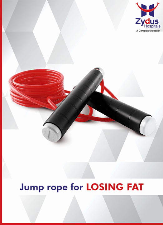 Invest in a good skipping rope and do regular skipping within the comfort of your home. Skipping regularly with a jump rope for short periods will help to dislodge the fat that is stored in your belly. Do 3-4 sessions throughout the day of ten minutes each.  #SummerHealth #Skipping #ZydusCares #HealthTips #ZydusHospitals #Ahmedabad