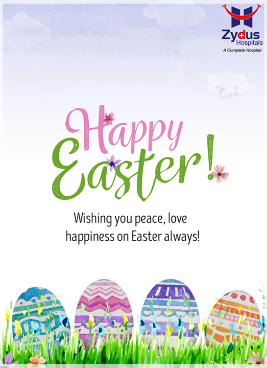 Warm wishes on #Easter!   #ZydusHospitals #Ahmedabad