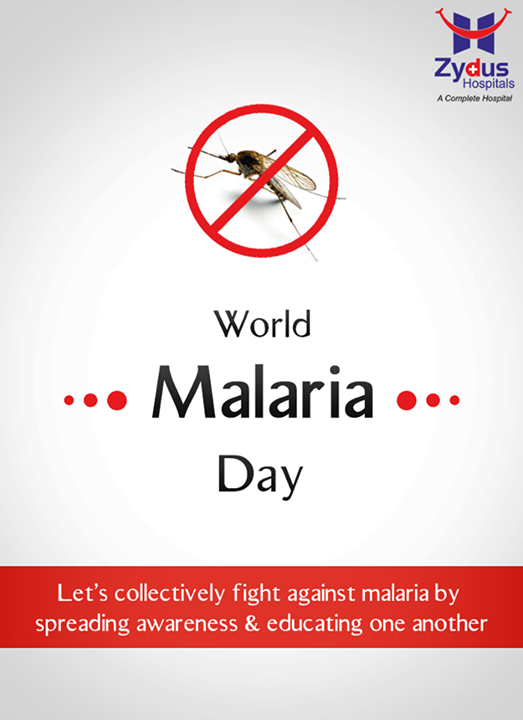 Let's collectively fight against malaria by spreading awareness & educating one another! #WorldMalariaDay  #Ahmedabad #Gujarat #ZydusCares #ZydusHospitals