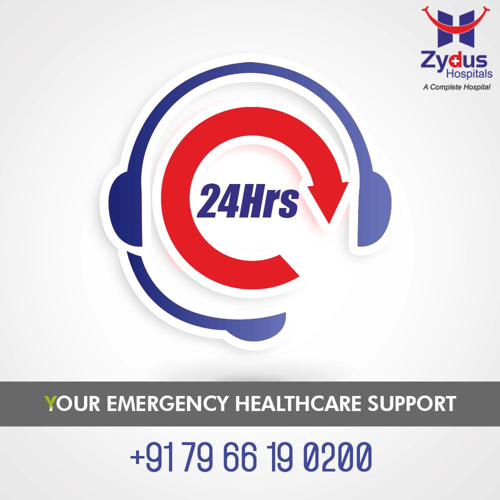 Your medical emergency is our top priority!   #Ahmedabad #Gujarat #ZydusCares #ZydusHospitals