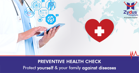Prevention is always better than cure, get yourself checked with our health check programs.  #Ahmedabad #Gujarat #ZydusCares #ZydusHospitals