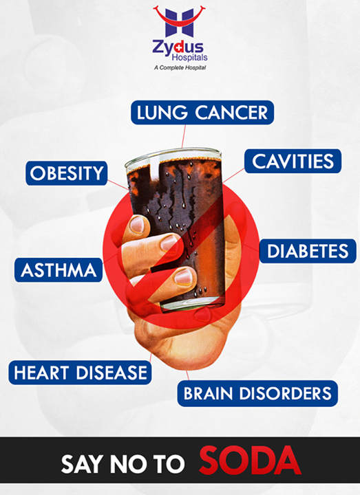 Say No to Soda, Yes to Healthy Drinks! #HealthCare #Ahmedabad #Gujarat #ZydusCares #ZydusHospitals