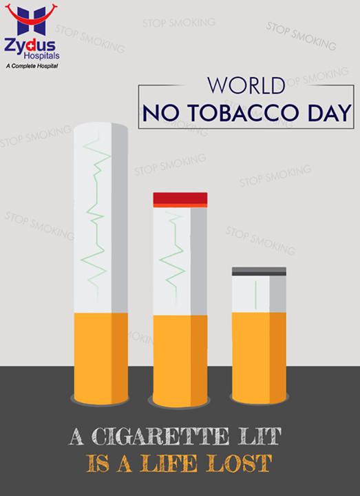 Act before its too late!  #NoTobaccoDay #AntiTobaccoDay #Gujarat #ZydusCares #ZydusHospitals