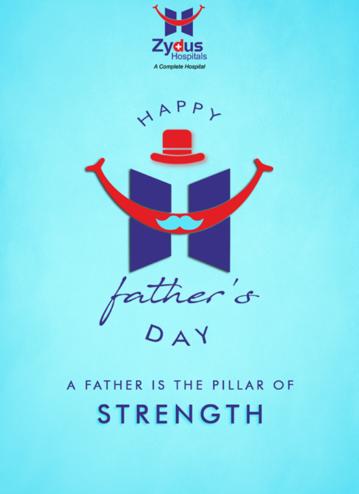 A father is a source of strength and wisdom.   #HappyFathersDay #FathersDay #Fathers #HealthCare #ZydusCares #ZydusHospitals