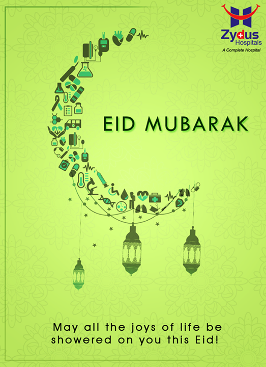 May all the joys of life be showered on you this #EID!   #EidMubarak #ZydusHospitals #Ahmedabad #Gujarat