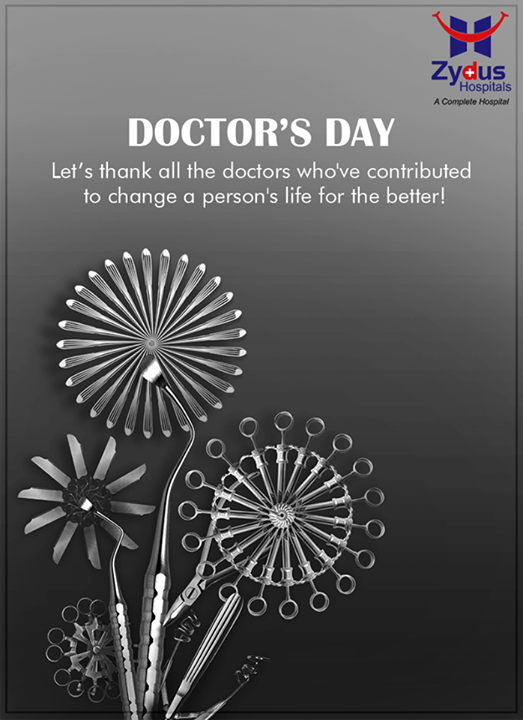 Let's thank all the #doctors on #DoctorsDay!  #HealthCare #ZydusCares #ZydusHospitals