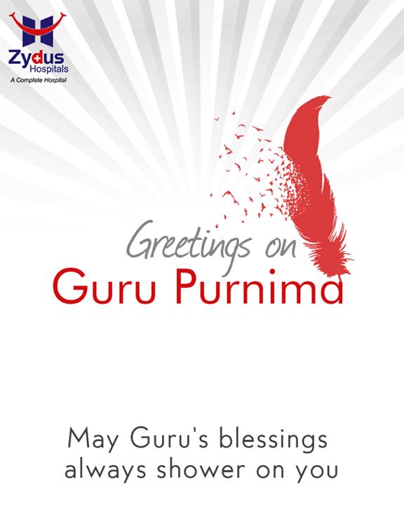 Guru is everything in our eternal life! Warm wishes on #GuruPurnima!  #HealthCare #ZydusCares #ZydusHospitals