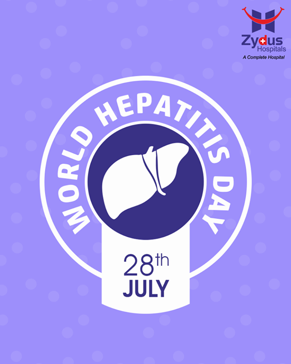 On #WorldHepatitisDay, let's pledge to eliminate Hepatitis from our lives & from this society.  #ZydusHospitals #Ahmedabad #Gujarat