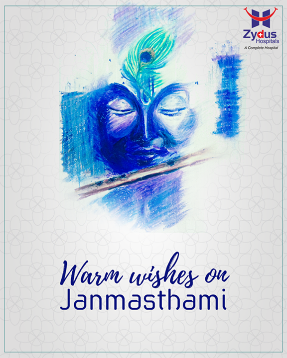 On this auspicious day let us sing hymns in praise of lord Krishna.  #Janmashtami #Janmashtami2017 #IndianFestivals #JanmashtamiCelebrations #ZydusHospitals #HealthCare #StayHealthy #Ahmedabad #GoodHealth