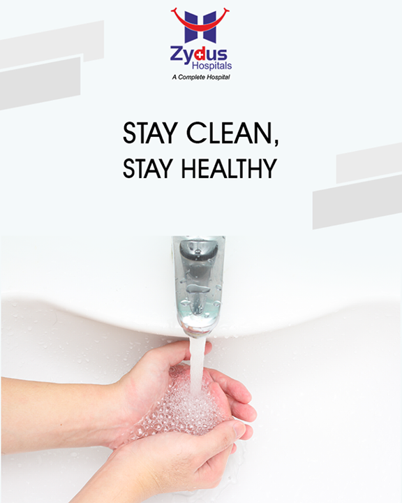 Washing hands before a meal is a must! During our daily chores, we touch several things. This may lead to germs passing from our hands to our mouth. Stay clean, stay healthy.  #StayClean #StayHealthy #ZydusHospitals #Ahmedabad #GoodHealth