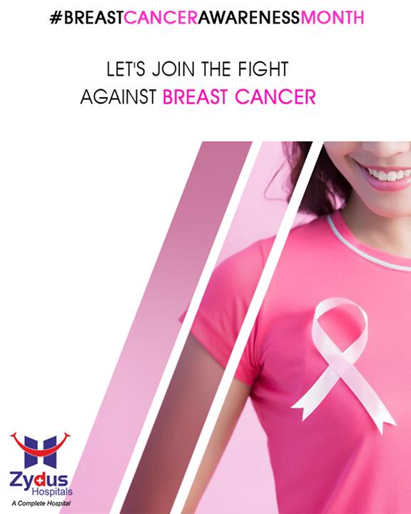 Beat Breast Cancer do regular Breast Self-Examination.  #BreastCancerAwarenessMonth #BreastCancer #October #ZydusHospitals #StayHealthy #Ahmedabad