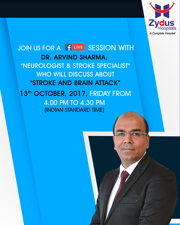 Join us for a FB live session with Dr. Arvind Sharma,
