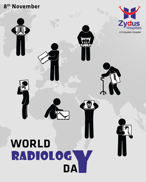 This day marks the anniversary of the discovery of X-Radiation by Wilhelm Roentgen in 1895.  #WorldRadiographyDay #ZydusHospitals #Ahmedabad