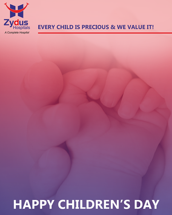 Every child is precious & we value it! #HappyChildrensDay  #HealthyYou #ZydusHospitals #ZydusCare #StayHealthy #Ahmedabad