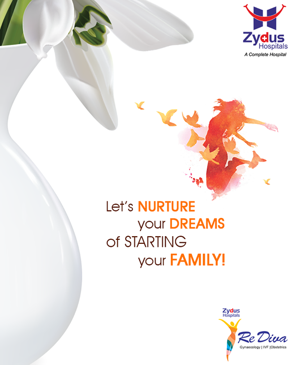 Let's nurture your dreams of starting your family!  #ZydusIVF #IVF #ZydusHospitals #ZydusCare #StayHealthy #Ahmedabad