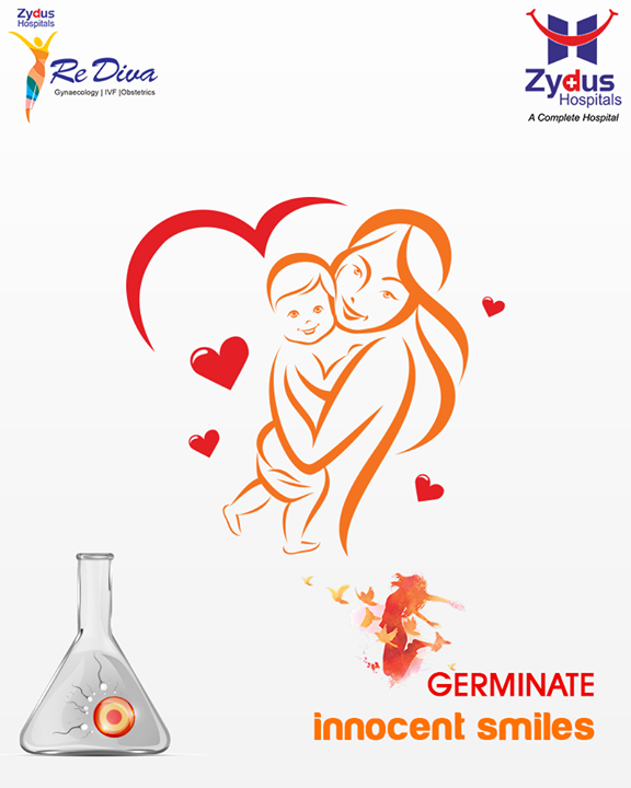 :: Germinate innocent smiles ::  #ZydusIVF #IVF #ZydusHospitals #ZydusCare #StayHealthy #Ahmedabad