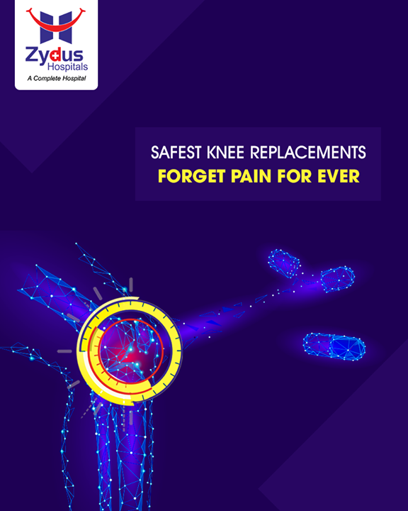 We follow a well-planned and scientific approach to manage and treat our patients for Joint Pains.  #TotalKneeReplacement #KneeReplacement #ZydusHospitals #StayHealthy #Ahmedabad #GoodHealth