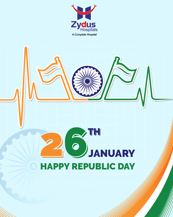 Here's wishing everyone a Happy Republic Day!  #RepublicDay #HappyRepublicDay #Salute #India  #ZydusHospitals #ZydusCare #StayHealthy #Ahmedabad