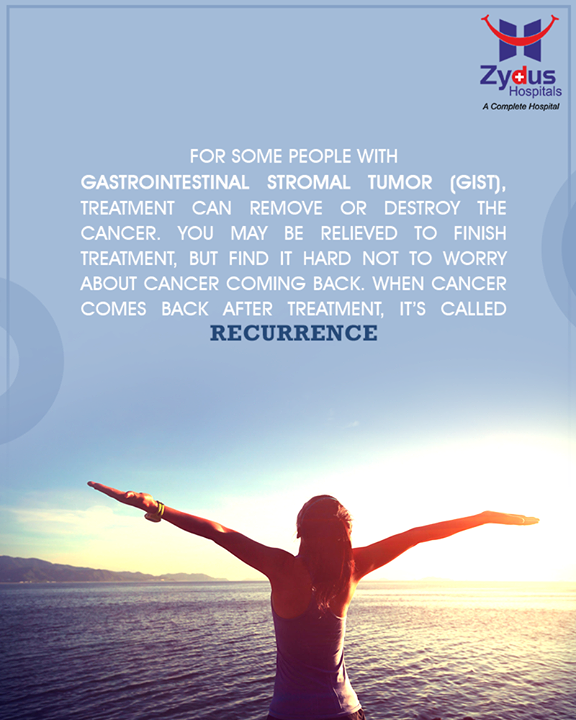 Completing GISTs treatment can be both, stressful and exciting.  #Gastrointestinal #StromalTumors #HealthyYou #ZydusHospitals #ZydusCare #StayHealthy #Ahmedabad