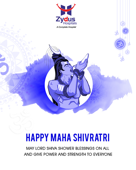 Wishing you all a Blessed #MahaShivratri!  #Shivratri #LordShiva #ZydusHospitals #ZydusCare #StayHealthy #Ahmedabad