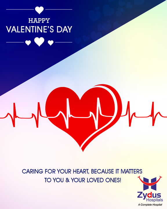 Caring for your heart, because it matters to you & your loved ones!  For more info: http://heart360.in/   #ZydusHospitals #ZydusCare #StayHealthy #Ahmedabad #HappyValentineDay #14thFeburary #valentinesday