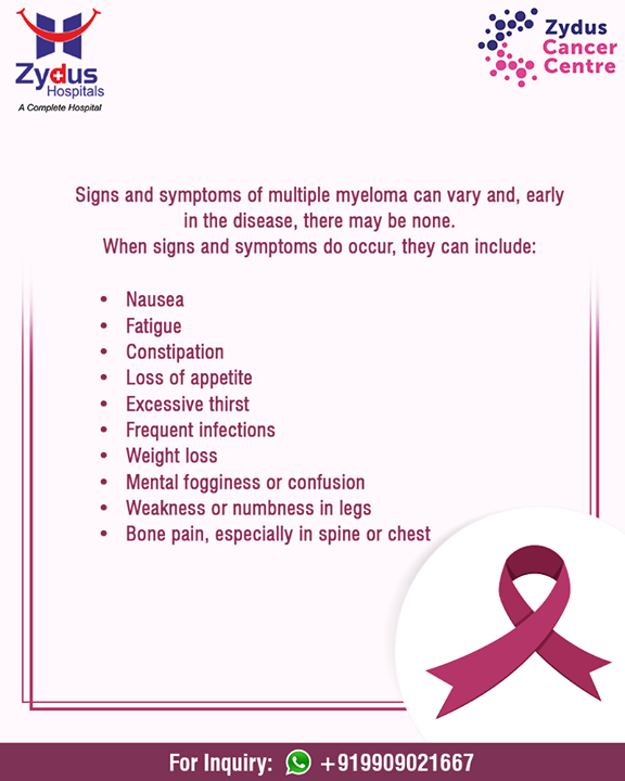 HOPE is the foundation of CURE! Spread A Word! March is Multiple Myeloma Action Month.  #MultipleMyelomaActionMonth #ZydusHospitals #StayHealthy #Ahmedabad #GoodHealth