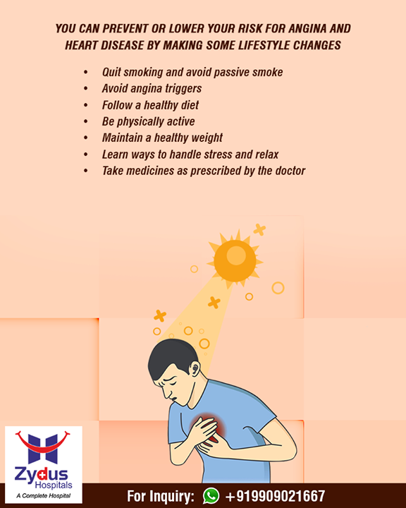 Hot weather increases the workload on your heart and the demand for oxygen, especially when you are more active. This can lead to Angina (Chest Pain)!  #PreventHeatStroke #Amdavad #HeatStroke #Summers #ZydusHospitals #ZydusCare #StayHealthy #Ahmedabad