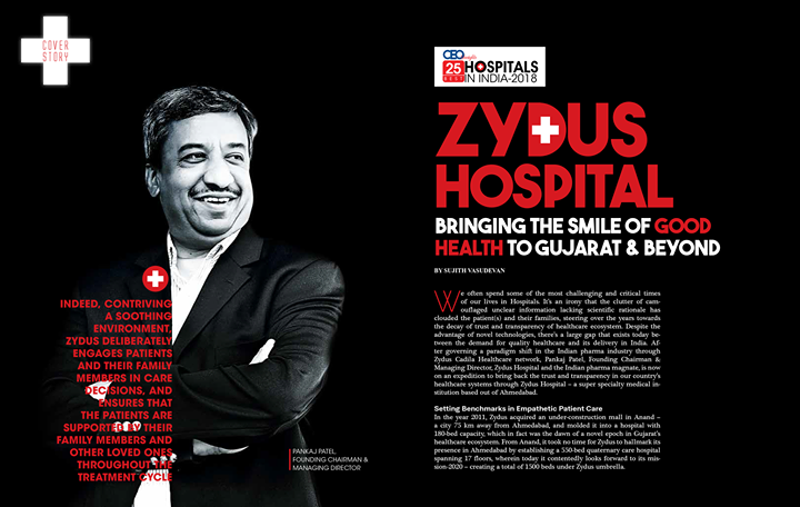 Bringing the smile of #goodhealth to #Gujarat & beyond!   #ZydusHospitals #StayHealthy #Ahmedabad