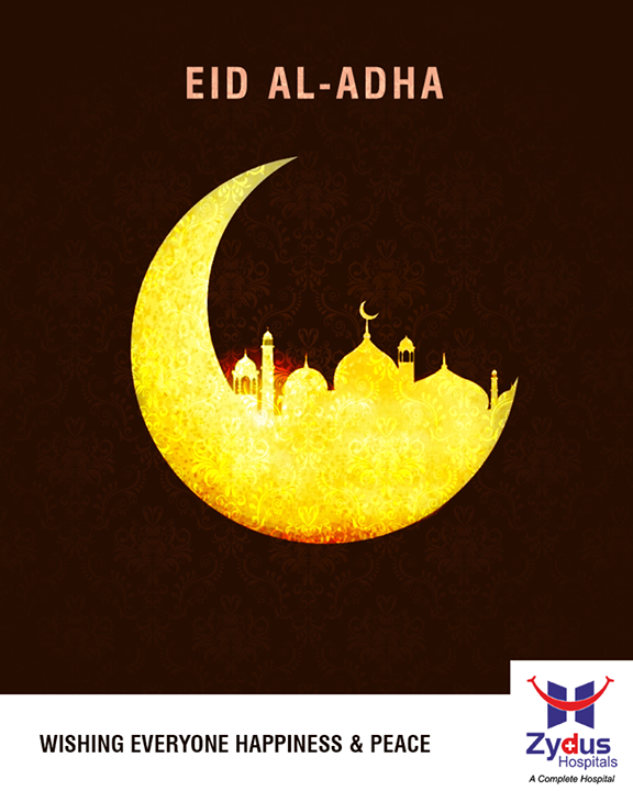 Here's wishing everyone happiness & peace this #EidAlAdha! #EidMubarak  #ZydusHospitals #StayHealthy #Ahmedabad #GoodHealthGujarat