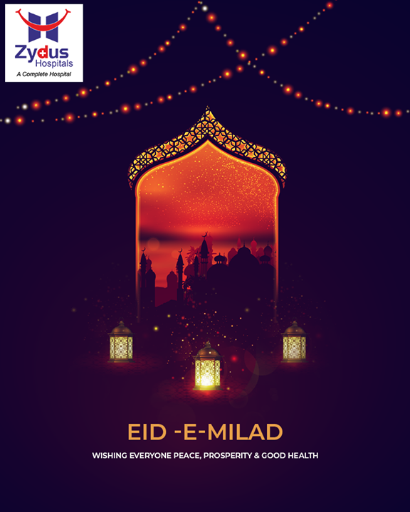 Wishing everyone peace, prosperity, and good health.  #EideMilad #EidMubarak #ZydusHospitals #StayHealthy #Ahmedabad #GoodHealth