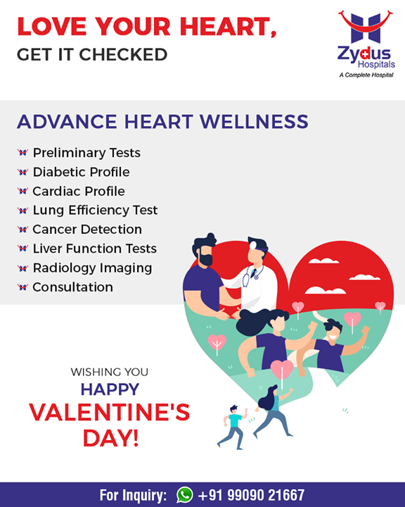 Show a little love to your heart this Valentines Day!   #ZydusHospitals #StayHealthy #Ahmedabad #GoodHealth #Valentines2019 #ValentinesDay #Valentines #DayOfLove #ValentinesDay2019