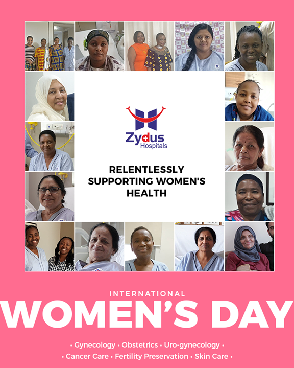 Zydus Hospitals relentlessly supporting Women's health  #WomensDay #InternationalWomensDay #HappyWomensDay #WomensDay2019 #8March2019 #ZydusHospitals #Ahmedabad #GoodHealth #womenhealth