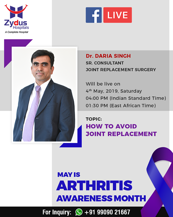 Join us for a #FBLive with Dr. Daria Singh who will throw light on