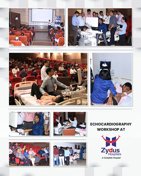 Glimpses from #Echocardiography workshop at Zydus Hospitals!  #EchocardiographyWorkshop #ZydusHospitals #StayHealthy #Ahmedabad #GoodHealth