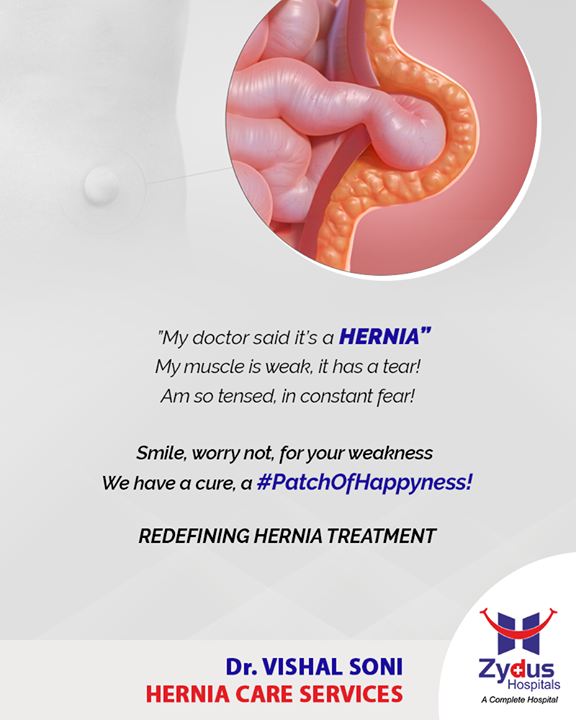 Zydus Hospitals brings to you Hernia care services that redefine the way Hernia is treated!  #HerniaCareServices #HerniaCare #Hernia #StayHealthy #ZydusCare #ZydusHospitals #Ahmedabad #Gujarat