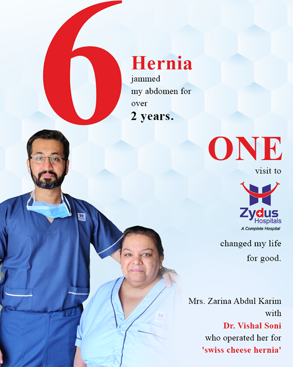 It feels amazing to be the reason of saving someones' life! We are grateful for the trust that our patients show in us.  #HerniaCareServices #HerniaCare #Hernia #StayHealthy #ZydusCare #ZydusHospitals #Ahmedabad #Gujarat