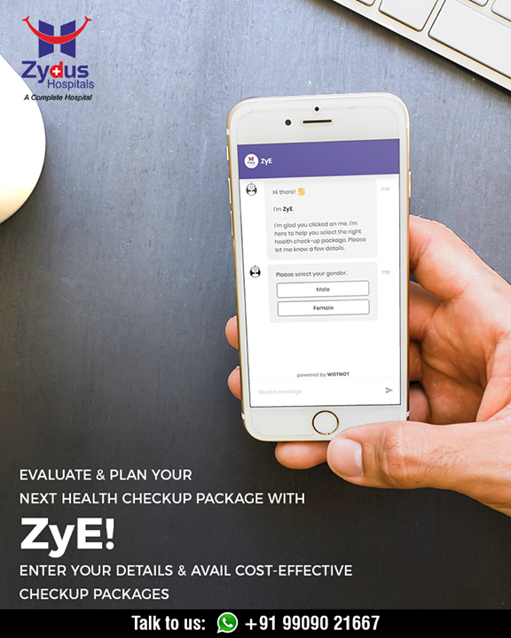 Health checkups were never this efficient! Evaluate & plan with ZyE!  #StayHealthy #ZydusCare #ZydusHospitals #Ahmedabad #Gujarat